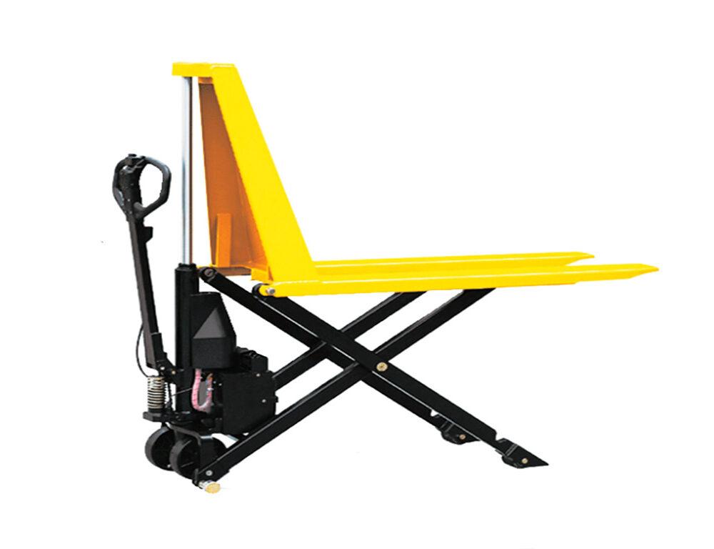 Тележка электрическая 1000 кг TOR EHLS1000N с ножничным подъемом (резин.колеса)