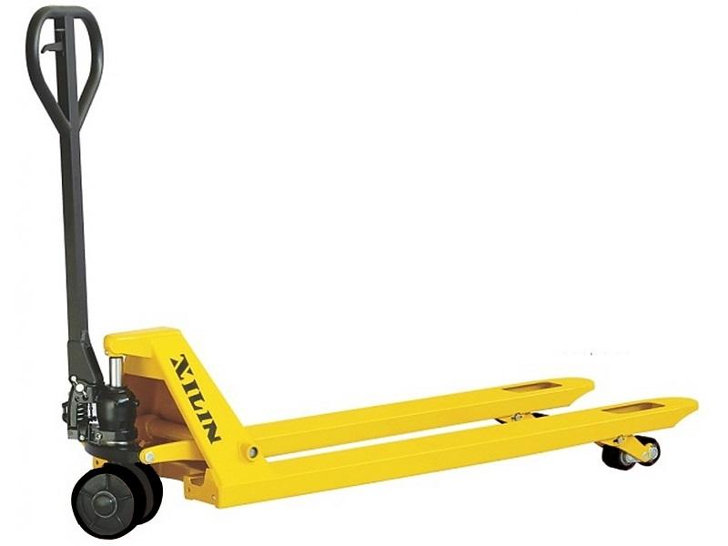 Тележка гидравлическая XILIN г/п 2500 кг DF-III (резиновые колеса)