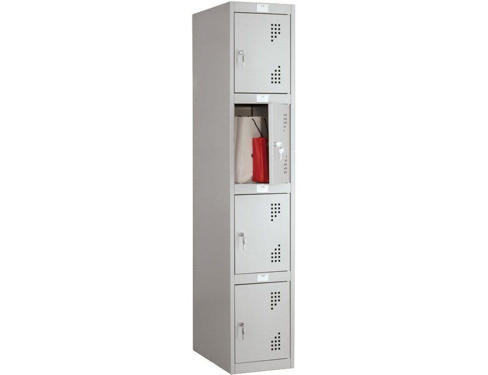 Шкаф для раздевалок NOBILIS антивандальный NLH-04